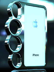 Aluminum Knuckle Case for iPhone