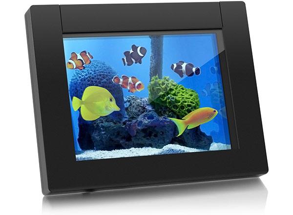"""Aluratek eQuarium 8"""" Digital Aquarium"""