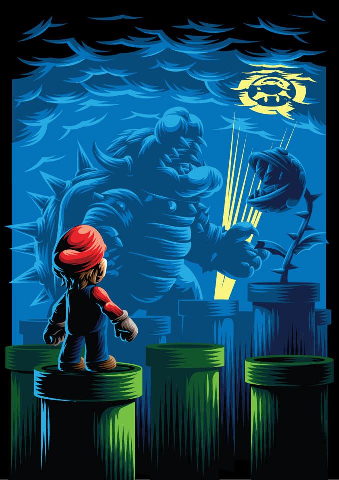 Amazing Nintendo Mario Poster
