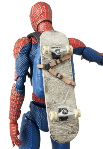 Amazing Spider Man 2 EX Deluxe Set Miracle Action Figure With Skateboard