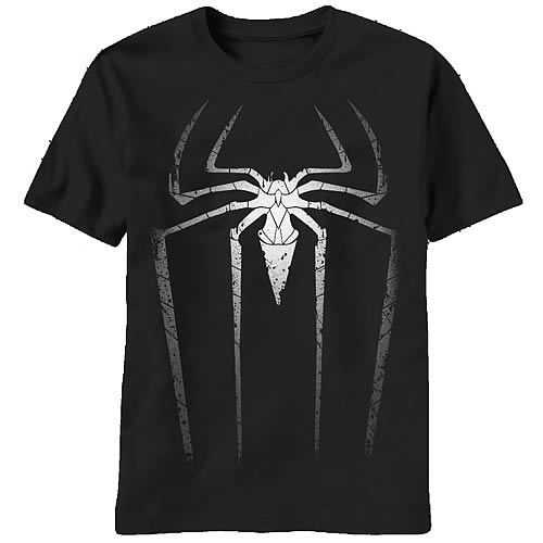 and white. This Amazing Spider-Man Spida-Spot T-Shirt is stunning