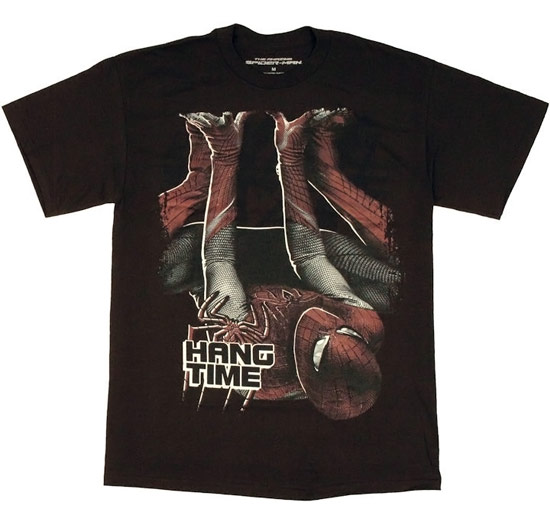 Amazing Spiderman Hang Time T Shirt