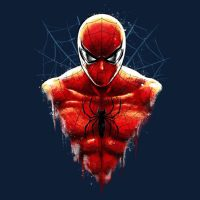 Amazing Spidey Bust T-Shirt