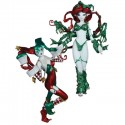 Ame Comi Harley Quinn and Poison Ivy Holiday Statues