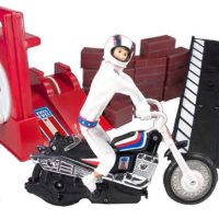 American Classic Toys Evel Knievel Stunt and Jump Set