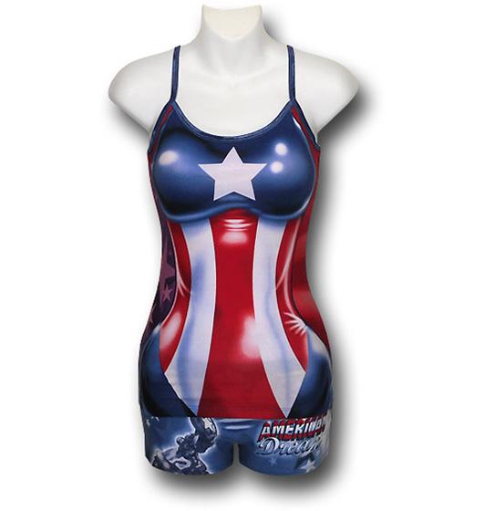 American Dream Junior Womens Cami & Panty Set