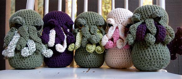 Amigurumi Cthulhu Crochet Pattern