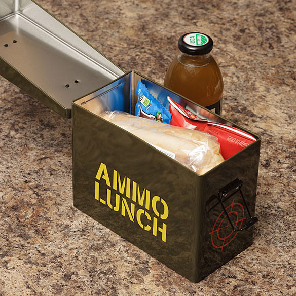 Ammo Box Lunch Box