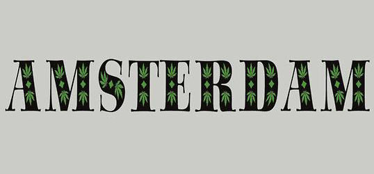 Amsterdam Marijuana Leaf T-Shirt