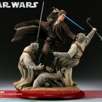 Anakin Skywalker VS Tusken Raiders Diorama