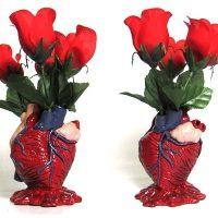 Anatomical Heart Pencil Holder