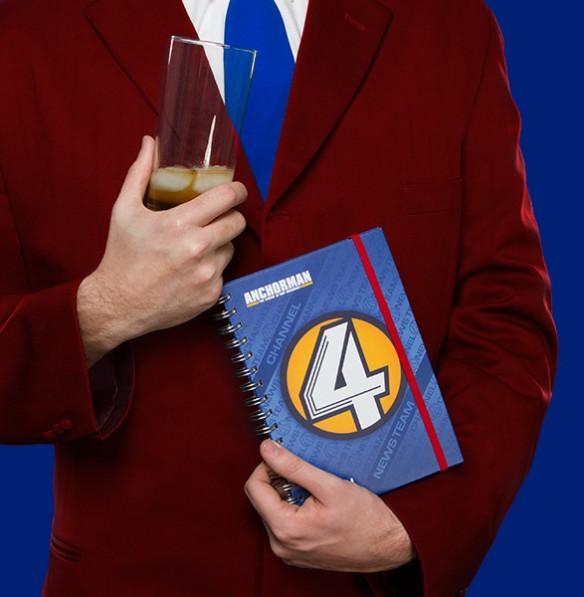 Anchorman Channel 4 News Journal