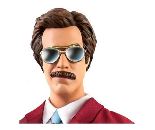 Anchorman Ron Burgundy Figure