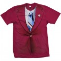 Anchorman Ron Burgundy TShirt Costume