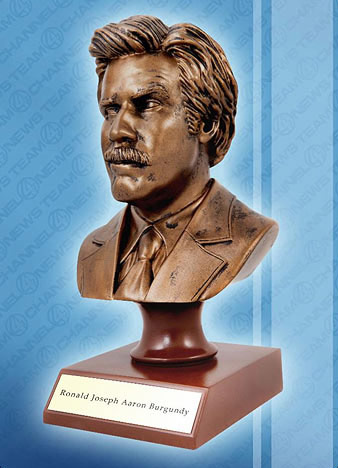 Anchorman The Legend of Ron Burgundy Bust