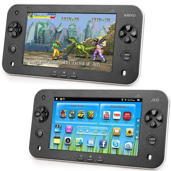 Android Gaming Tablet with 7-Inch Multi-Touch Screen
