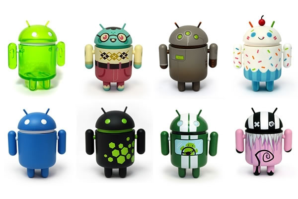 Android Mini Collectible Figures