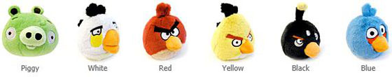 Angry Bird Plush Toys with sound