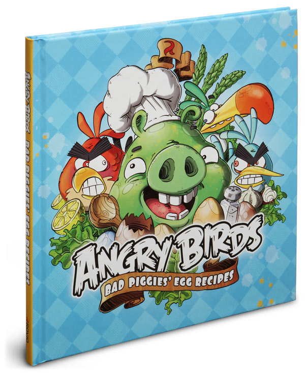 Angry Birds Bad Piggies' Egg Recipes Cook Book