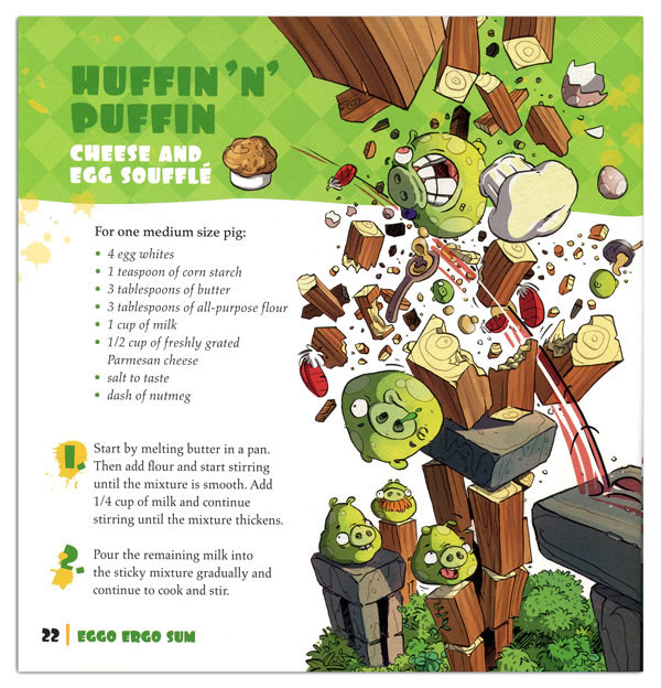 Angry Birds Cook Book