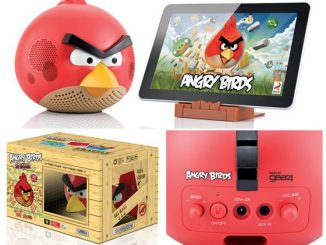 Angry Birds Docking Speakers