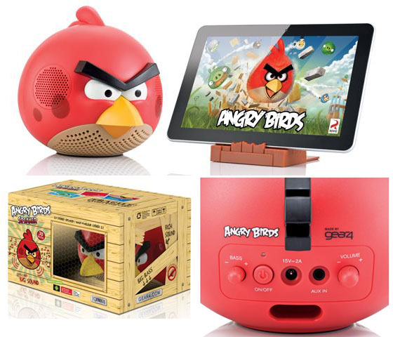 Angry Birds Docking Speakers