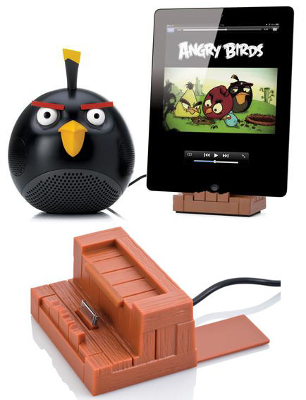 Angry Birds Docking Stations