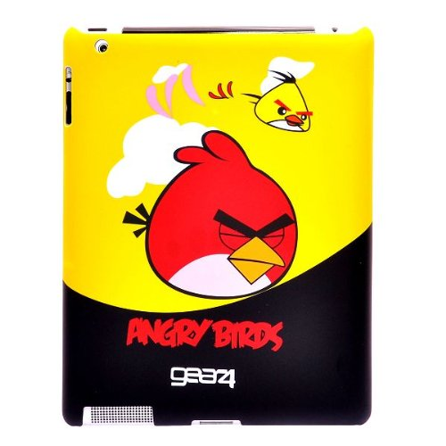 Angry Birds Hard Back Case Cover for Apple iPad 2