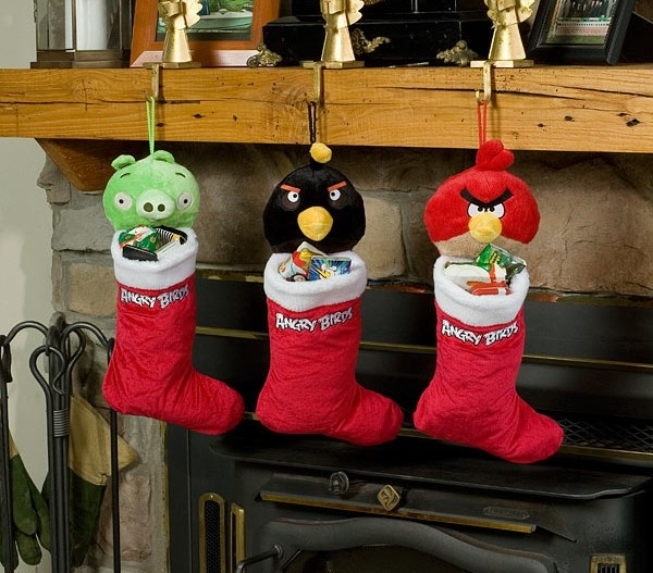 Angry Birds Holiday Stocking