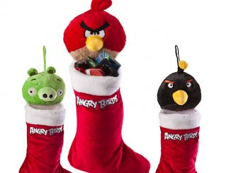 Angry Birds Holiday Stockings