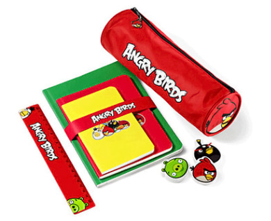 Angry Birds School Supplies