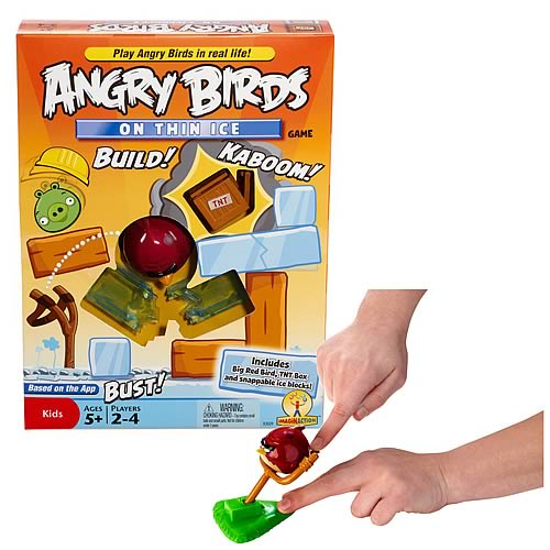 Angry Birds On Thin Ice Game