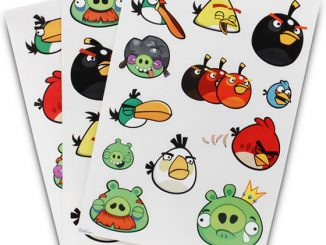 Angry Birds Reusable Wall Stickers
