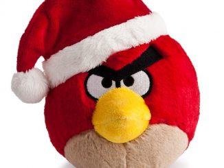 Angry Birds Santa Hat Plush
