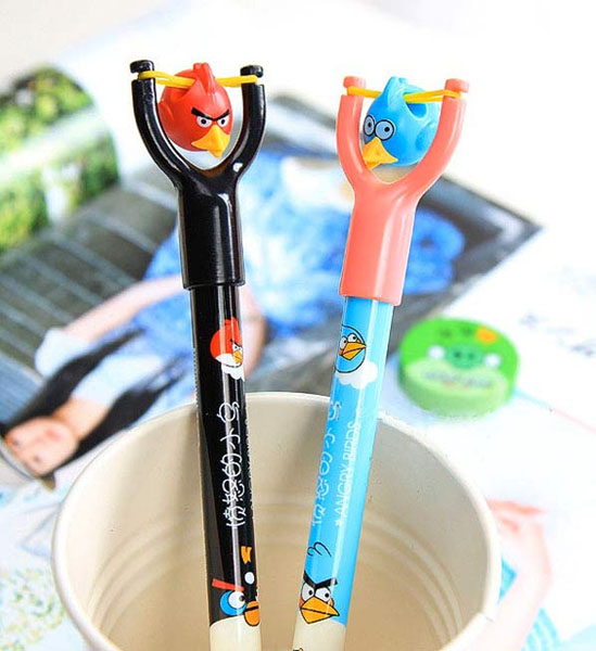 Angry Birds & Slingshot Design Ball-Pointed Pens
