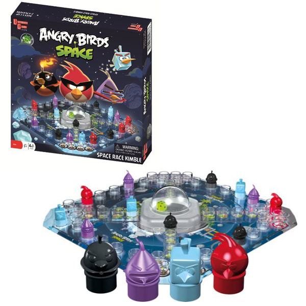 Angry Birds Space Race Game