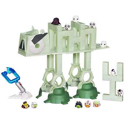 Angry Birds Star Wars At At Attack Battle Game