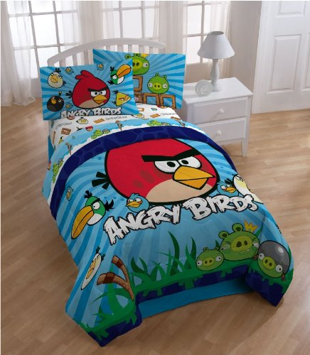 Angry Birds Twin Sheet Set | GeekAlerts