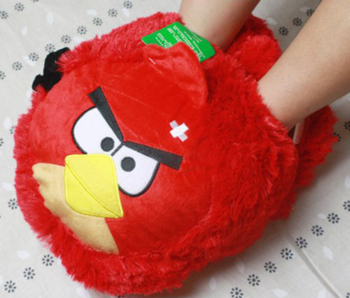 Angry Birds USB Foot Warmer