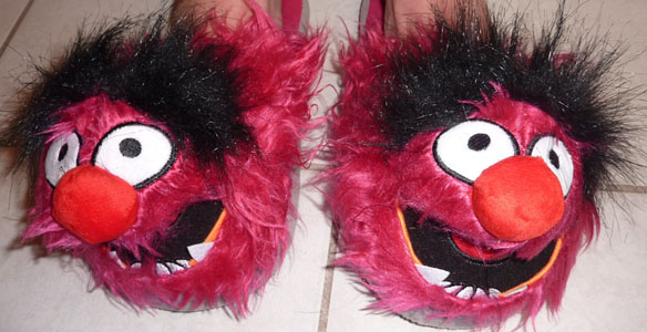 Animal Muppets Slippers review