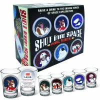 Animals Shot Into Space Shot Glasses