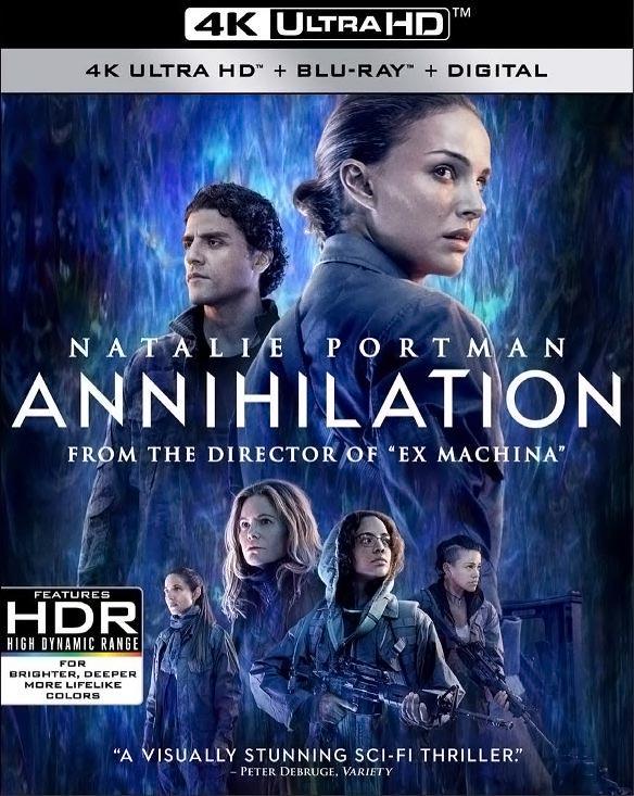 Annihilation 4K Ultra HD Blu-ray