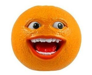 Annoying Orange Talking PVC Figure
