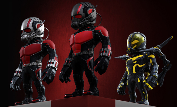 Ant-Man Artist Mix Deluxe Set of 3 Collectible Set