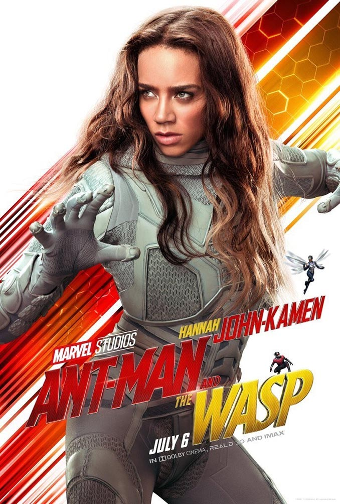 Ant Man and The Wasp Hannah John Kamen Poster