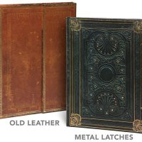 Antiquarian Blank Book Journals