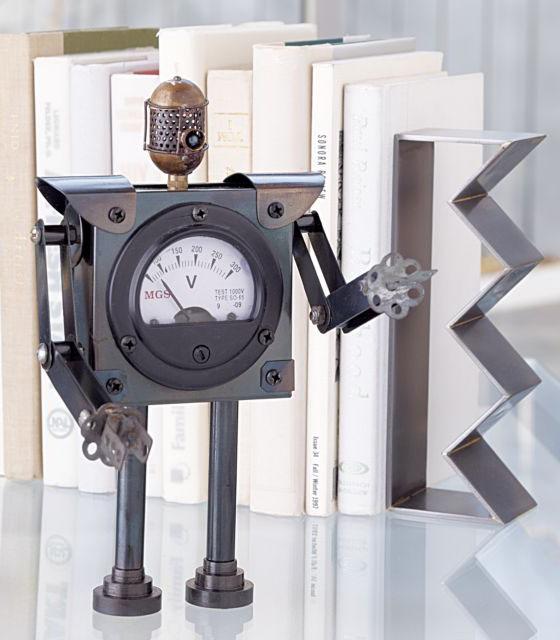 Antique-Looking Robot