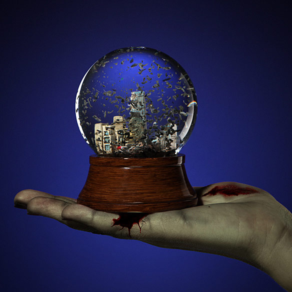 Apocalypse Water Globe