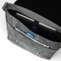 Apollo Mini Messenger Bag Inside