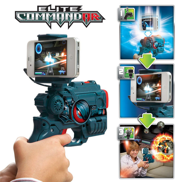 App gear Elite Command-AR Game